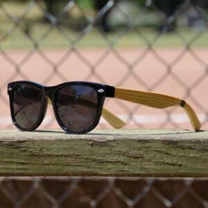 Baseballism: Baseball Bat Grain Sunglasses