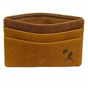 Baseballism: Flag Man Cardholder Wallet - Glove Leather