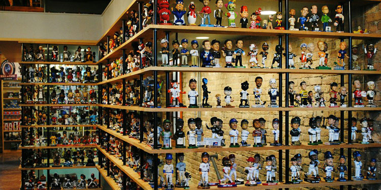 Bobbleheads on Display