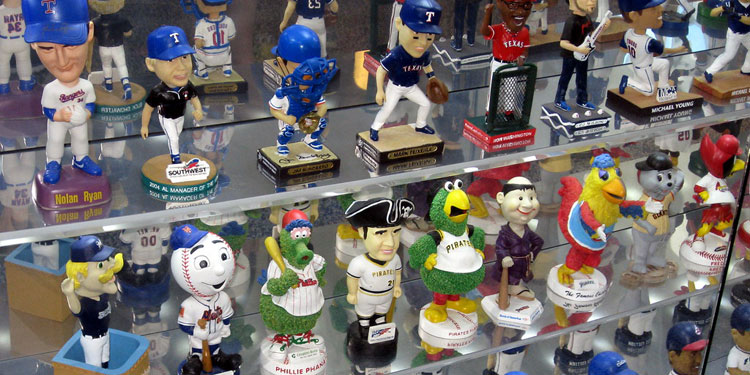 Bobblehead Mascots in Miami