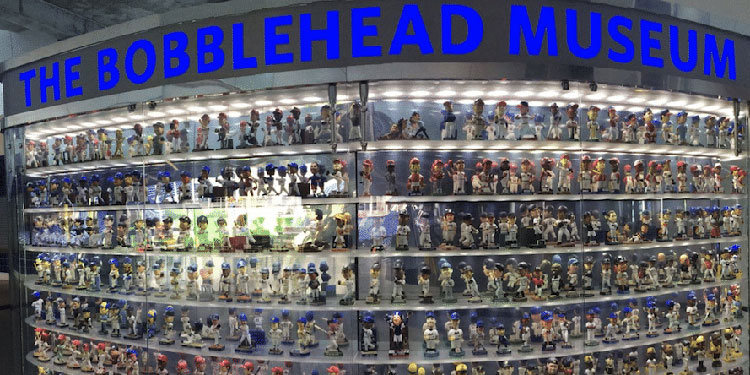 The Bobblehead Museum in Miami, Florida