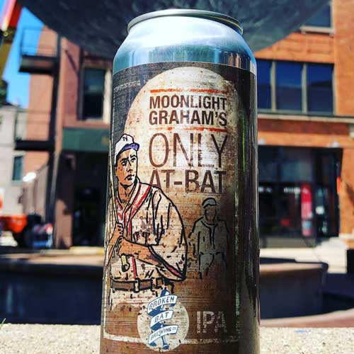 Moonlight Graham's Only At-Bat IPA – Broken Bat Brewing