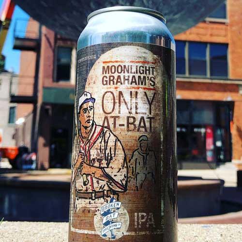 Moonlight Graham's Only At-Bat IPA – Broken Bat Brewing