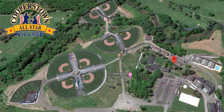 Cooperstown All-Star Village aerial