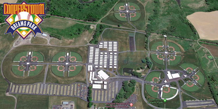 Cooperstown Dreams Park aerial