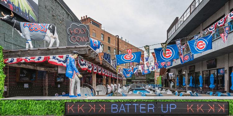 Deuce's Major League Bar in Chicago, IL