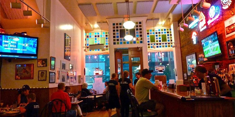 Doubleday Cafe Inside