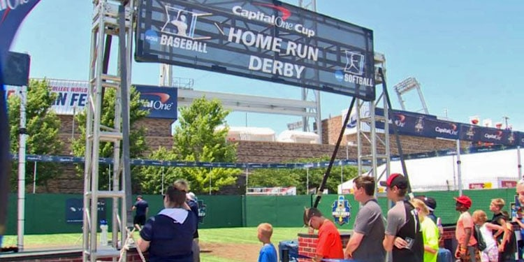 Home Run Derby at Fan Fest at CWS