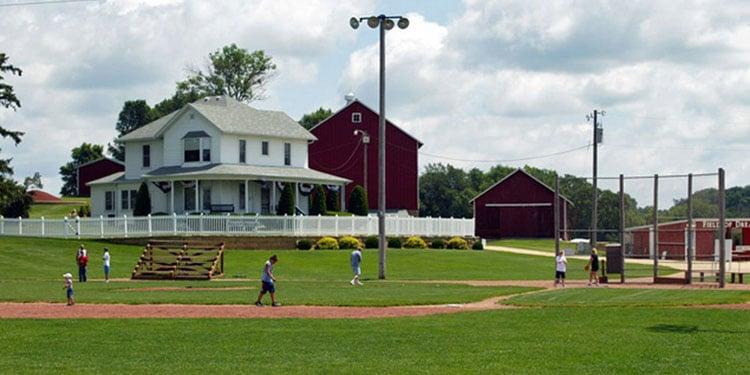 Field of Dreams baseball