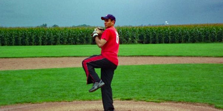 Pitching at Field of Dreams