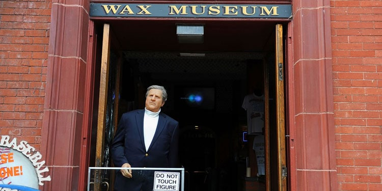 George Steinbrenner in Wax Museum