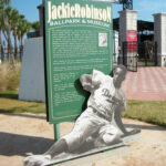 Jackie Robinson Ballpark & Museum Sign