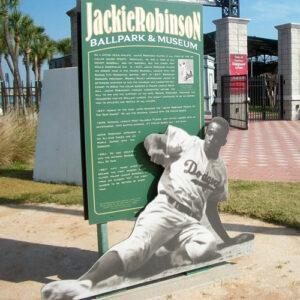 Jackie Robinson Ballpark & Museum Sign