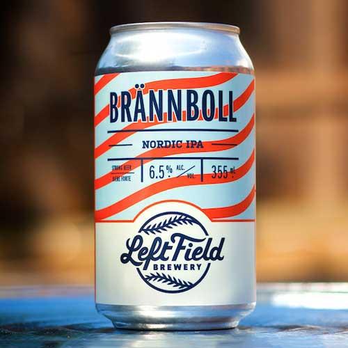 Brannboll – Left Field Brewery