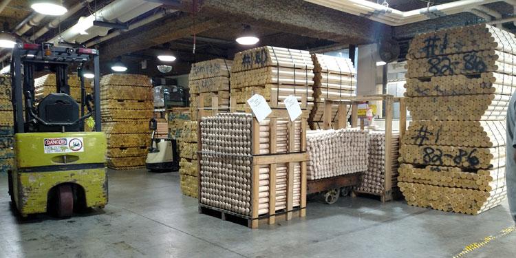Louisville Slugger wood turning blanks