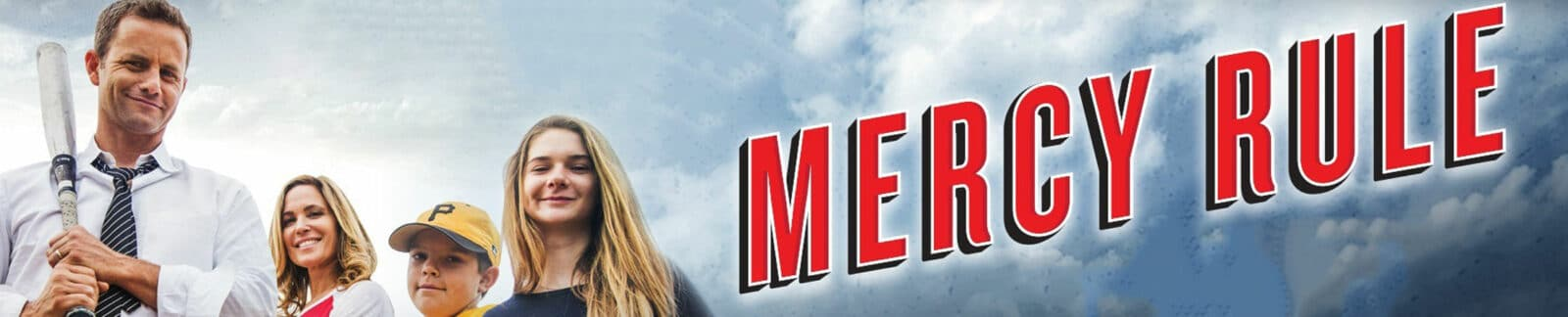 Mercy Rule baseball movie header