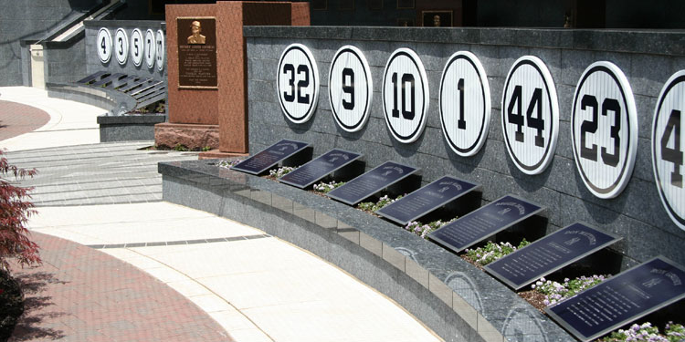 Monument Park – Retired Numbers