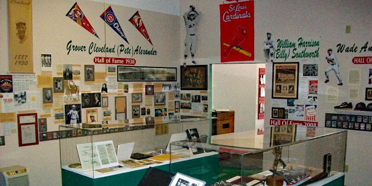 Museum of Nebraska Major League Baseball inside