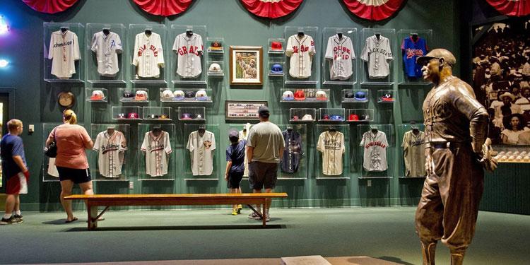 Negro Leagues Baseball Museum Exhibit