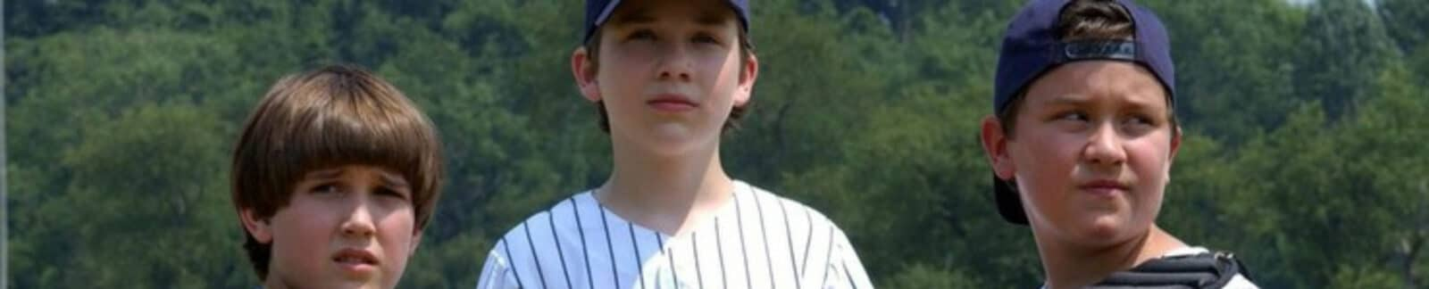 Rounding First baseball movie header
