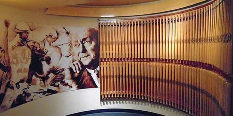 Ty Cobb Museum baseball bats