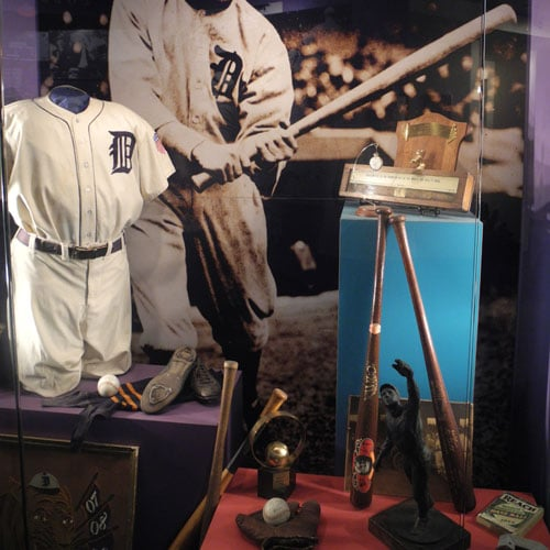 Ty Cobb Museum baseball artifacts