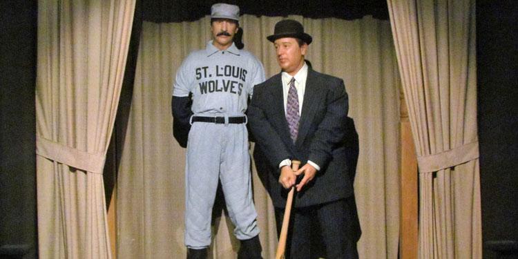 Heroes of Baseball Wax Museum: Abbott & Costello