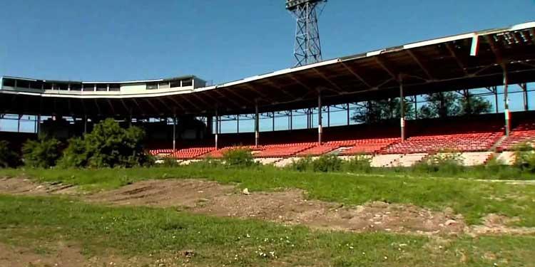 Bush Stadium Abandoned