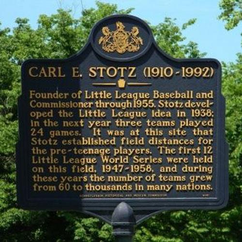 Carl Stotz, Founder of Little League Baseball