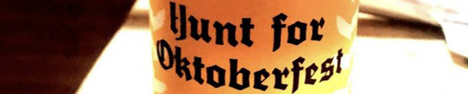 Hunt for Oktoberfest beer header