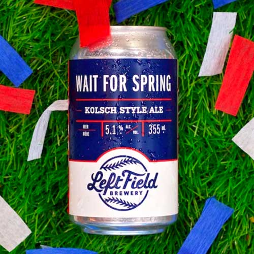 Wait for Spring - Left Field Brewery