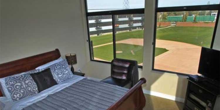 Stadium Lofts apartment view