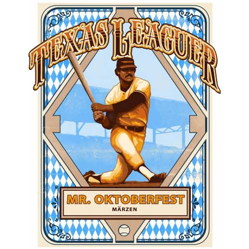Mr. Oktoberfest – Texas Leaguer Brewing