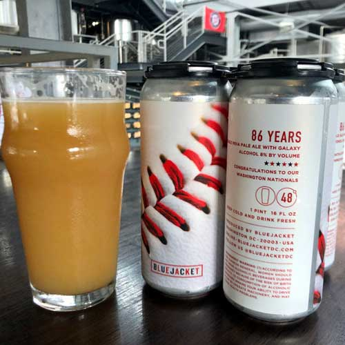 86 Years Beer by Bluejacket