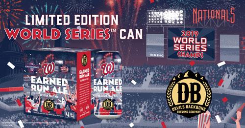 Earned Run Ale – 2019 World Series Edition