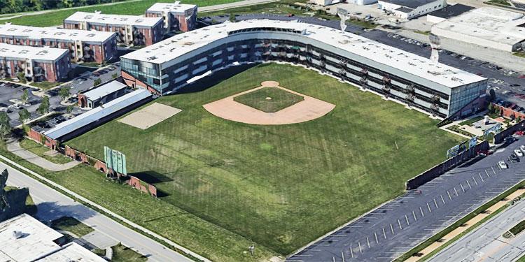 Stadium Lofts Baseball Field