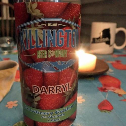 Darryl Strawberry Golden Ale by Killington Beer Company