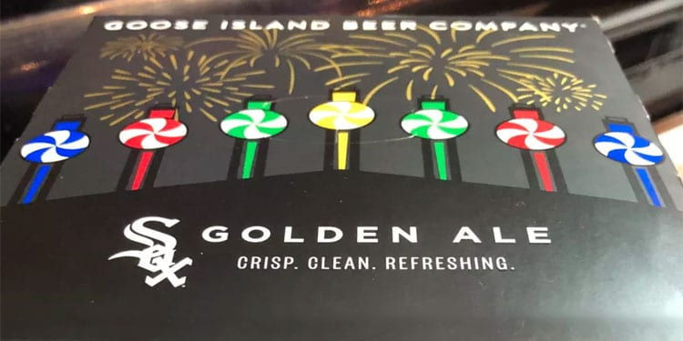White Sox Golden Ale by Goose Island Packaging