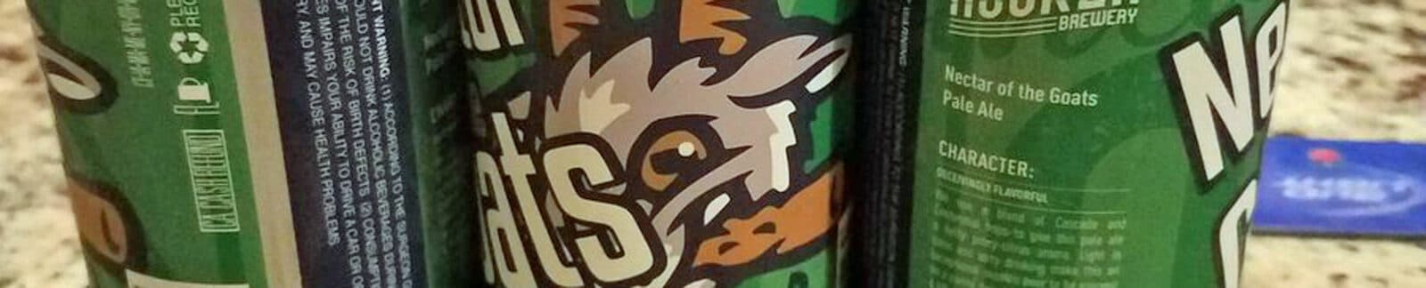 Nectar of the Goats Pale Ale header