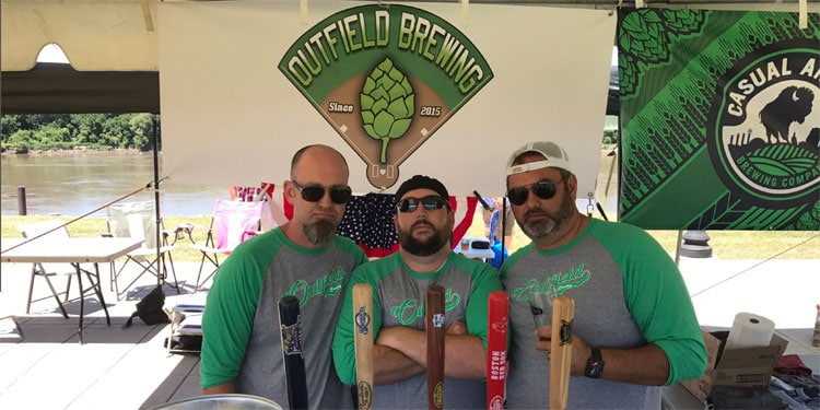 Outfield Beer Company on Draught