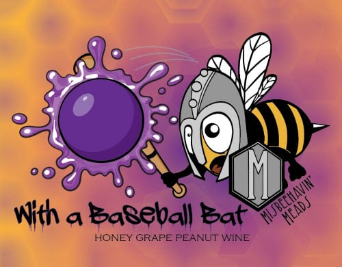 With a Baseball Bat Grape