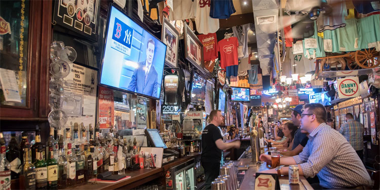 Inside Foley's NY Pub & Restaurant