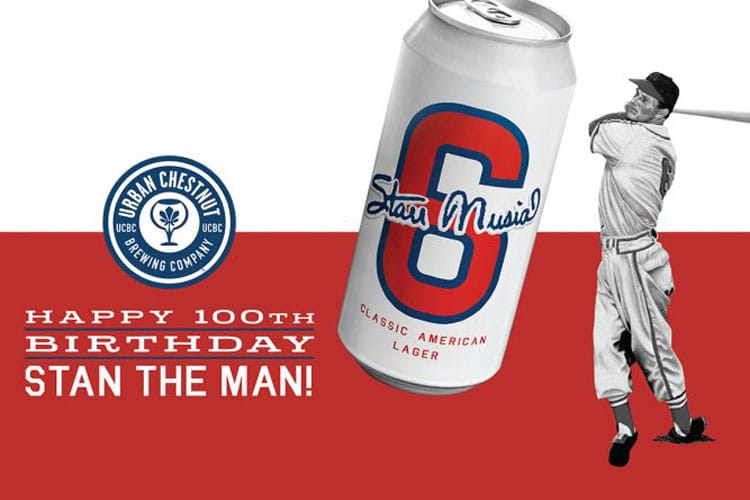 #6 Stan Musial American Classic Lager - Happy Birthday #100