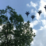F15 Fighter Jets Over Medford, Mass