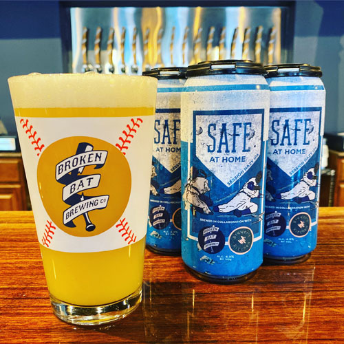 4-Pack of Safe at Home by Broken Bat Brewing