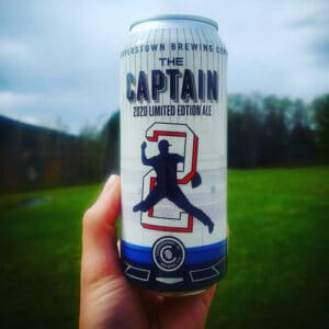 The Captain (Derek Jeter beer) from Cooperstown Brewing