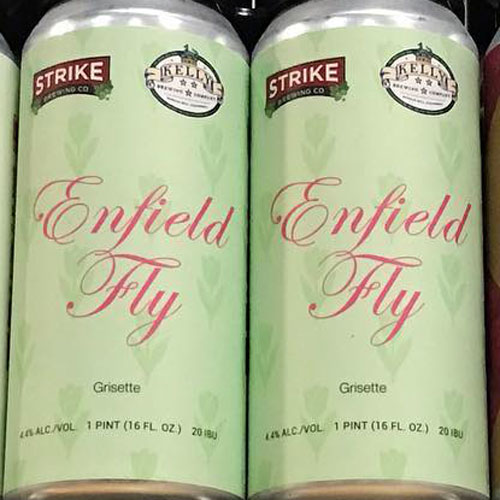 Enfield Fly, a Grisette by Strike Brewing