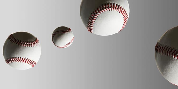 Falling Baseballs like Snowflakes