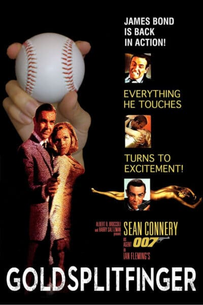 GoldSplitfinger, baseball movie