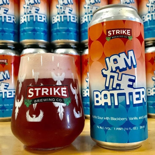 Jam the Batter (Blackberry) by Strike Brewing